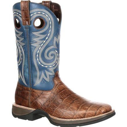 Rebel by Durango Gator Embossed Western Boot