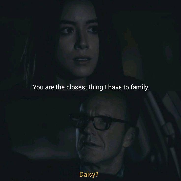 Daisy Johnson, Phil Coulson, Agents of SHIELD