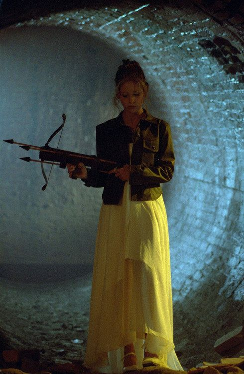 The Going To Prom But Still Having To Fight Evil That Has Fruit Punch Mouth Outfit | 23 Of The Most Buffy Outfits Buffy Ever Wore