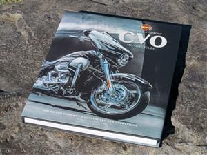 harley davidson coffee table style books cvo cover