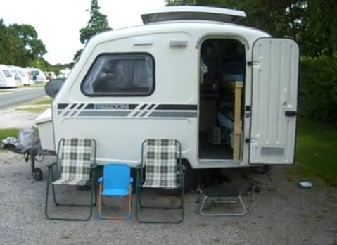 find this pin and more on small homes on wheels vardos caravans such - Tiny Camping Trailers