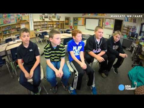 Five elementary kids are asked why 1 kid is being bullied… watch what the boy on the end reveals. | SocialChive