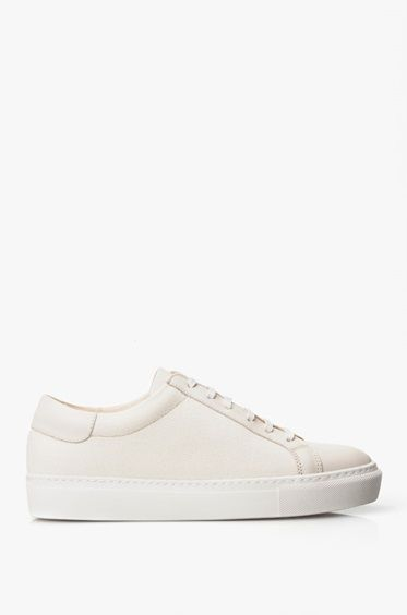 By Malene Birger Woman Snake-effect Leather Slip-on Sneakers Light Gray Size 36 By Malene Birger Of576eEjm