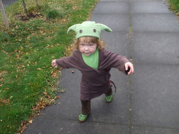 A possible Halloween costume for my littlest cutie...The hat needs something....hmmm....