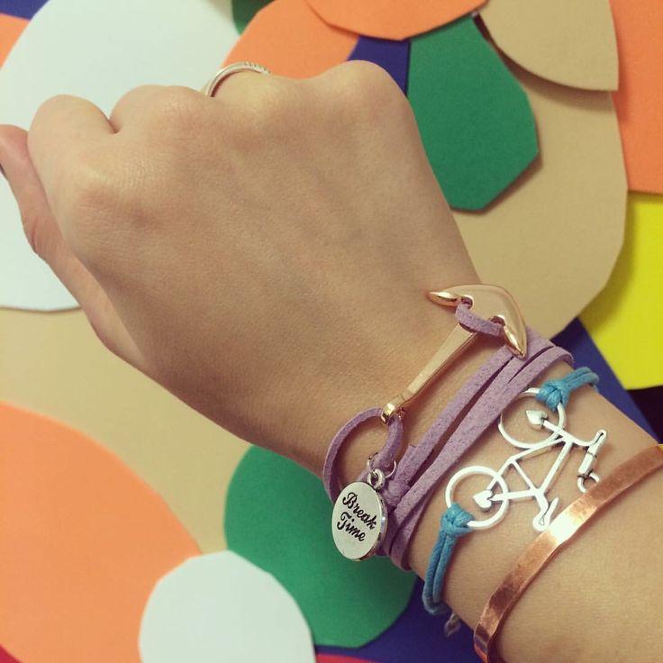 New bracelet. Goldie!