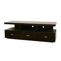 @Overstock.com - Easily store and display your television, electronics, peripherals, and more with the contemporary Nardo media stand. This TV stand features a dark brown finish and plenty of storage space.http://www.overstock.com/Home-Garden/Nardo-Dark-Brown-Wood-Modern-TV-Stand/5548997/product.html?CID=214117 $544.29
