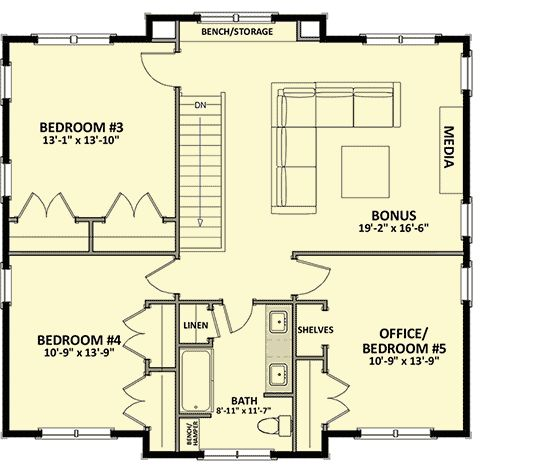 229 best favorites house plans images on pinterest small for L shaped craftsman home plans