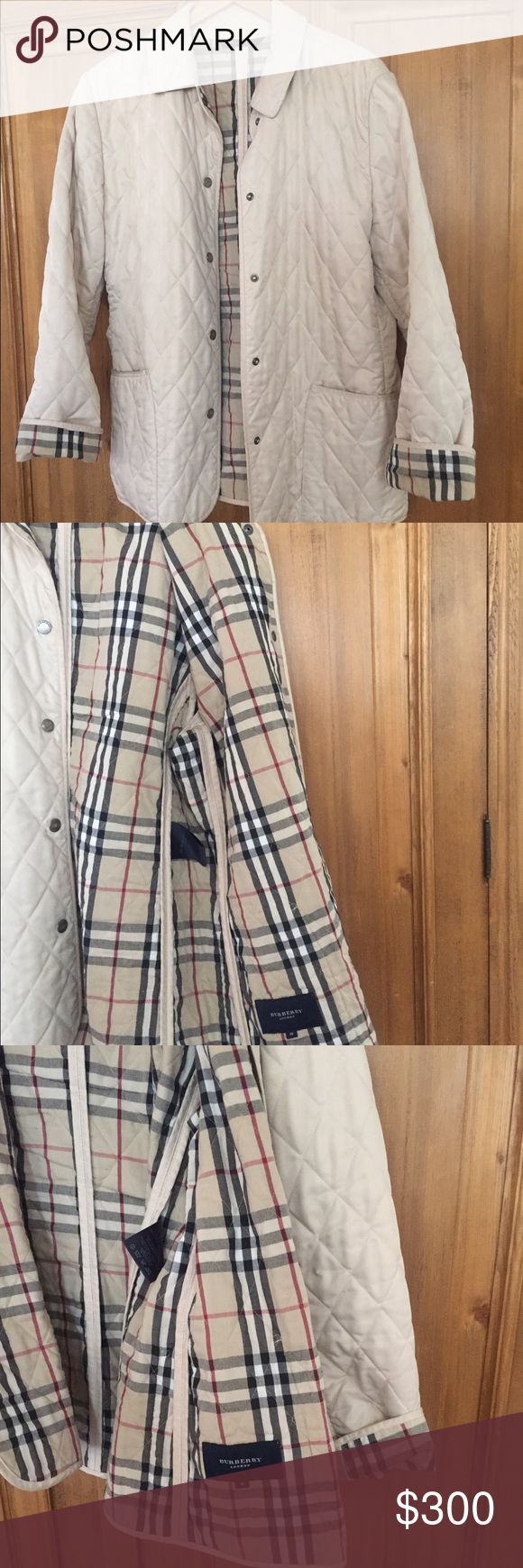 how to tell authentic burberry jacket