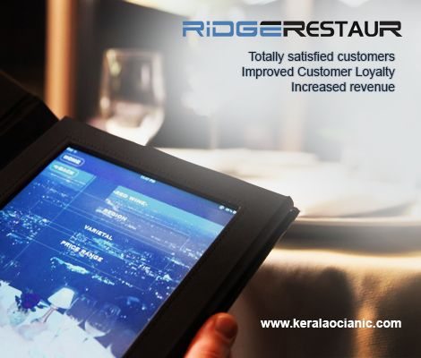 We are Kerala Oceanic Offers Different IT Services, introducing you Total Solution for Restaurant Services RidgeRestaur