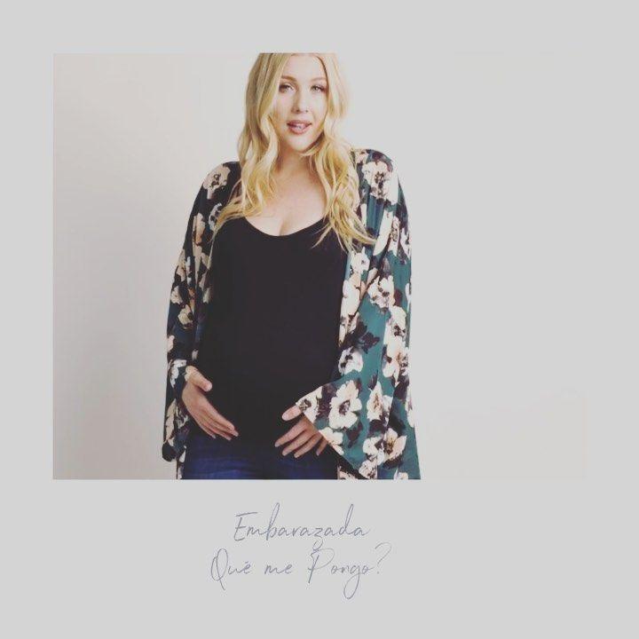 Hoy por petición popular me voy a centrar en la moda para embarazadas. . Por ex…