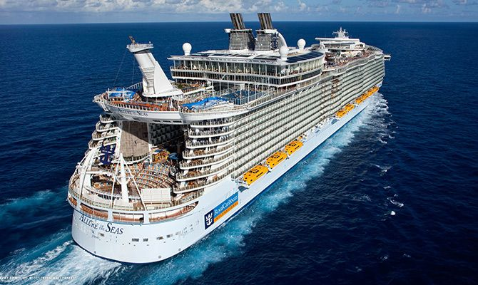 Cruzeiros , Royal Caribbean é uma das que anunciou fim da navegação no Brasil