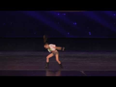 1st Ever Hip Hop Solo for Kaycee Rice - WERK! 2013 - Choreo by Tricia Mi...