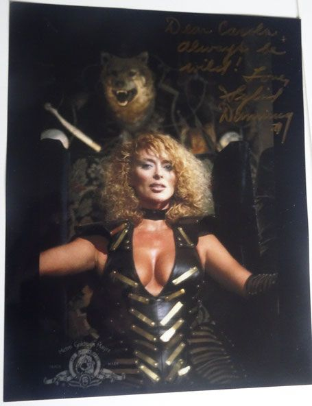 Sybil Danning at Weekend of Hell. We met her and got an autograph