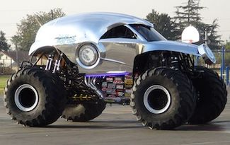 """The """"New Earth Authority"""" Monster Truck & Anaheim Police Join Forces : Macaroni Kid"""