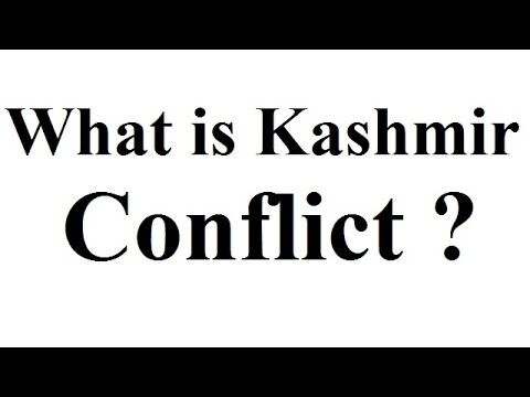 The Kashmir conflict is a territorial conflict between India and Pakistan which started just after partition of India. India and Pakistan have fought three w...