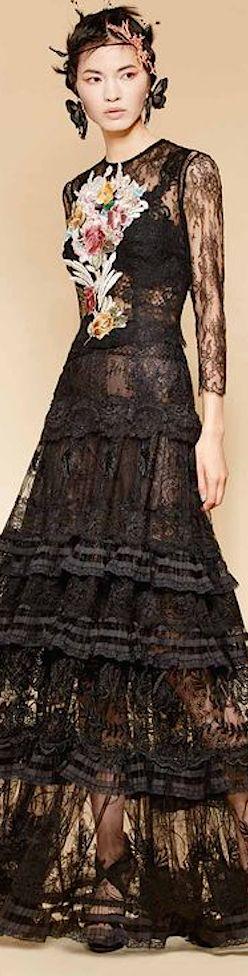 Yolan Cris Spring Summer 2016 Couture
