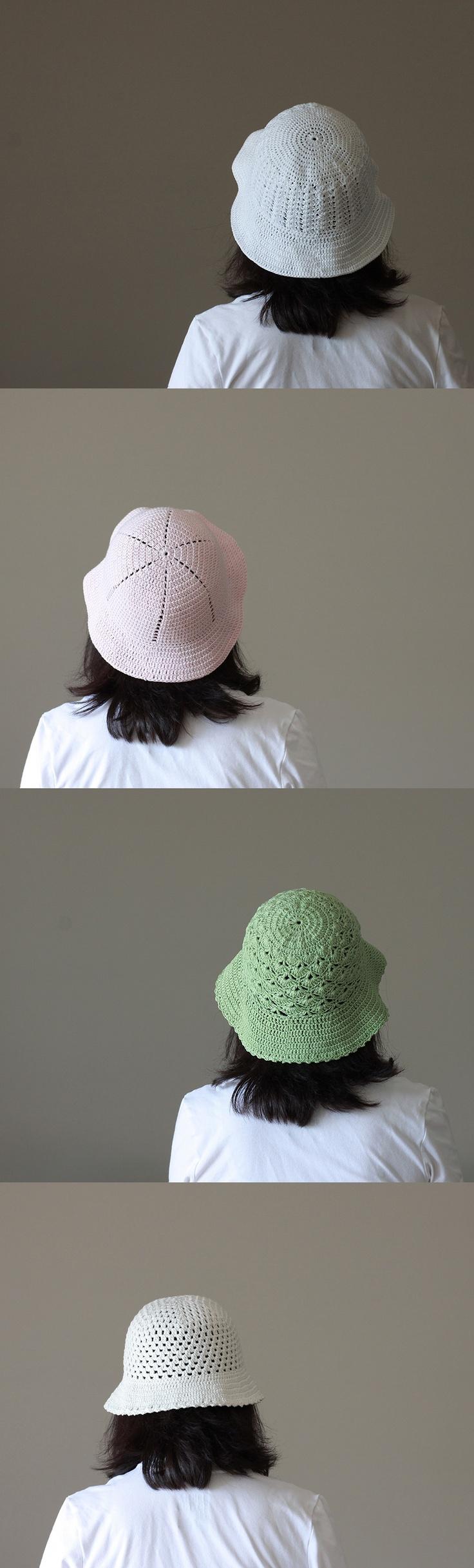 Crochet Summer Hat for Women made with 100% mercerized cotton yarn, $33 #summer hat #cotton hat #gift for mom #green #crochet hat