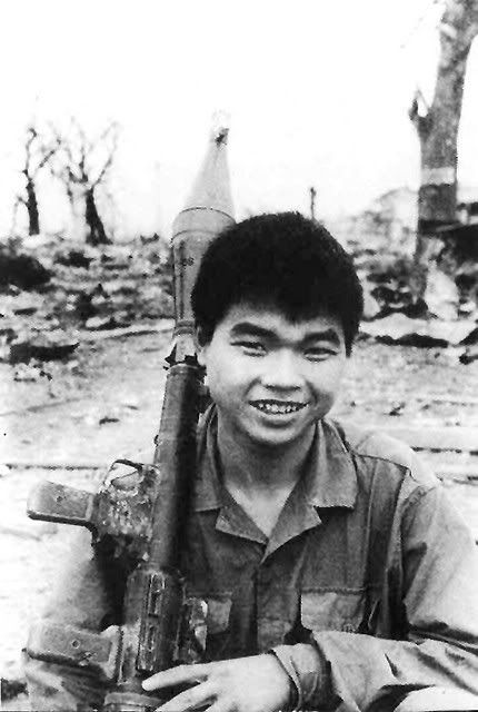 Quang Tri. North Vietnamese army soldier. c.1970. Doan Cong Tinh.