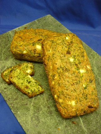Spinach & Feta cheese loaf  approx. 600g  $8.50