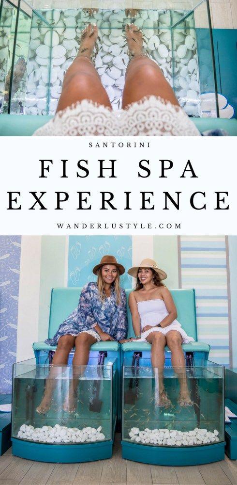 Fish Spa experience in Santorini | Wanderlustyle.com