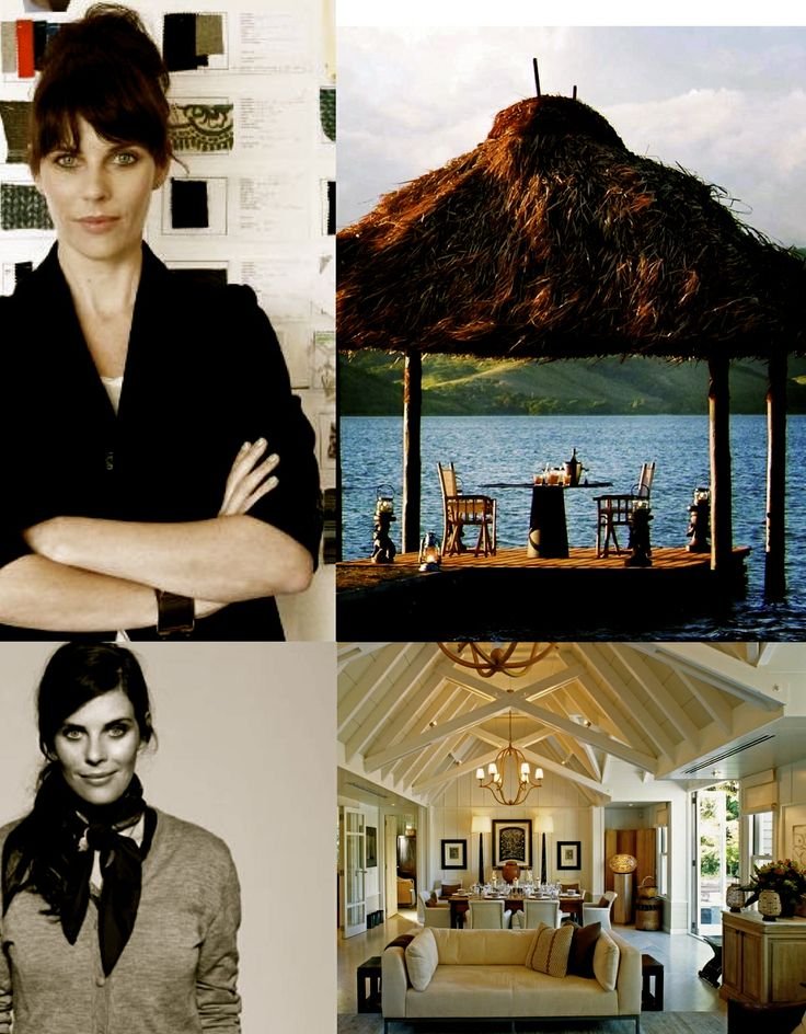 Karen Walker is a noted New Zealand fashion designer who shows each season at New York Fashion Week.   Follow her journey from Huka Lodge, New Zealand to Dolphin Island, Fiji  #relaischateaux #routesdubonheur #karenwalker