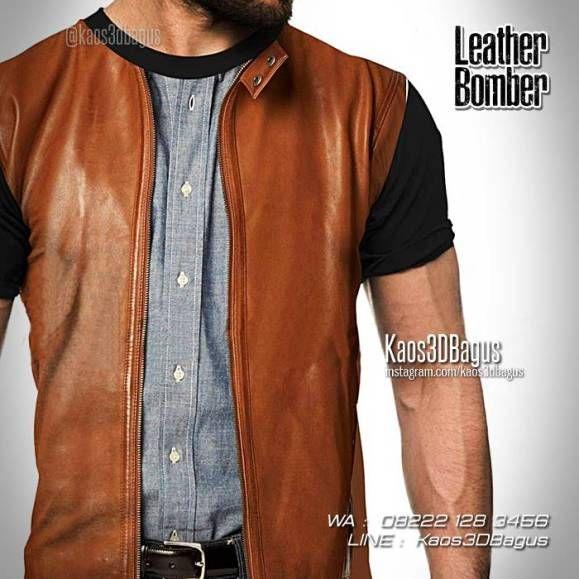 Kaos 3D JAKET KULIT, Kaos 3D Leather Bomber Jacket, Kaos 3 Dimensi, Kaos Unik, WA : 08222 128 3456, LINE : Kaos3DBagus, https://kaos3dbagus.wordpress.com/2017/03/08/kaos-jas-kaos-jaket-kulit-kaos3d-fashion/