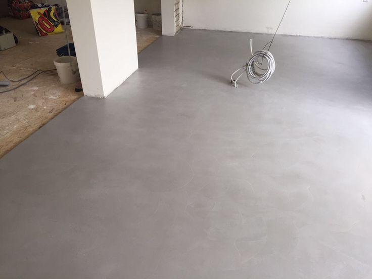 Cementlook vloer