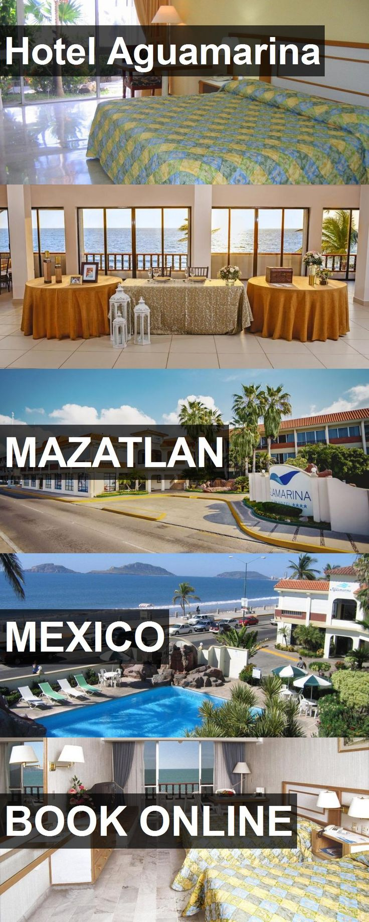 Hotel Aguamarina in Mazatlan, Mexico. For more information, photos, reviews and best prices please follow the link. #Mexico #Mazatlan #travel #vacation #hotel