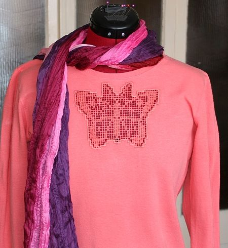 Advanced Embroidery Designs. FSL Crochet Blouses