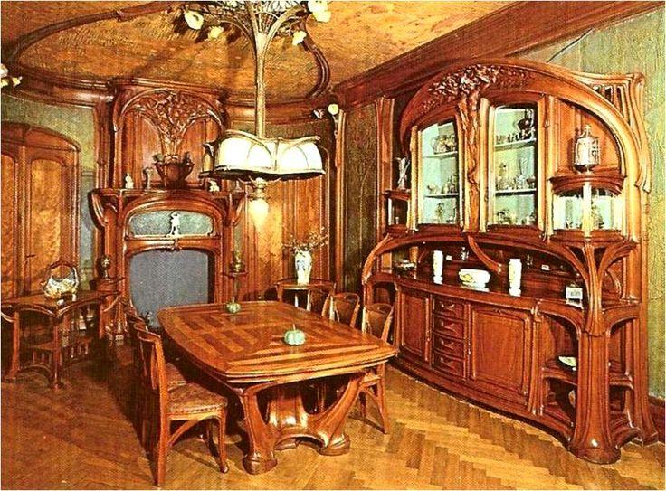 art nouveau interior | Bragas pelo Mundo: Art Nouveau, o estilo que nasceu na Bélgica