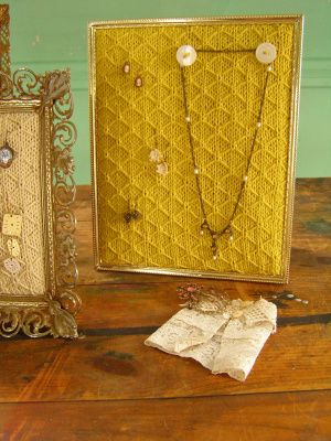 17 Best ideas about Jewelry Frames on Pinterest