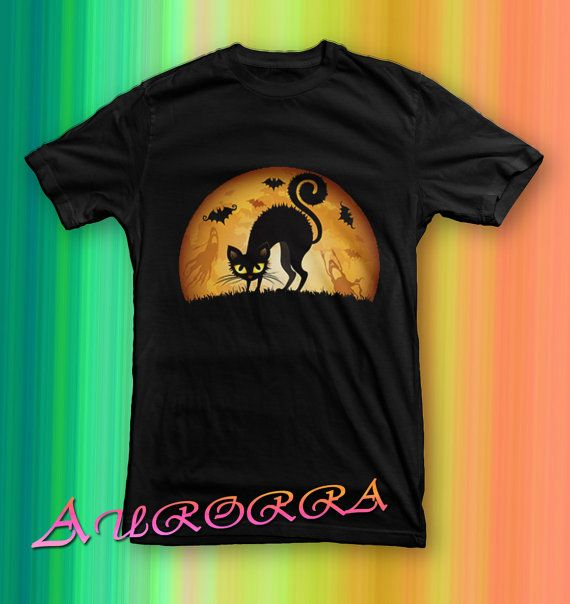 hallowen cat before christmas tshirt for men and by paseosoft