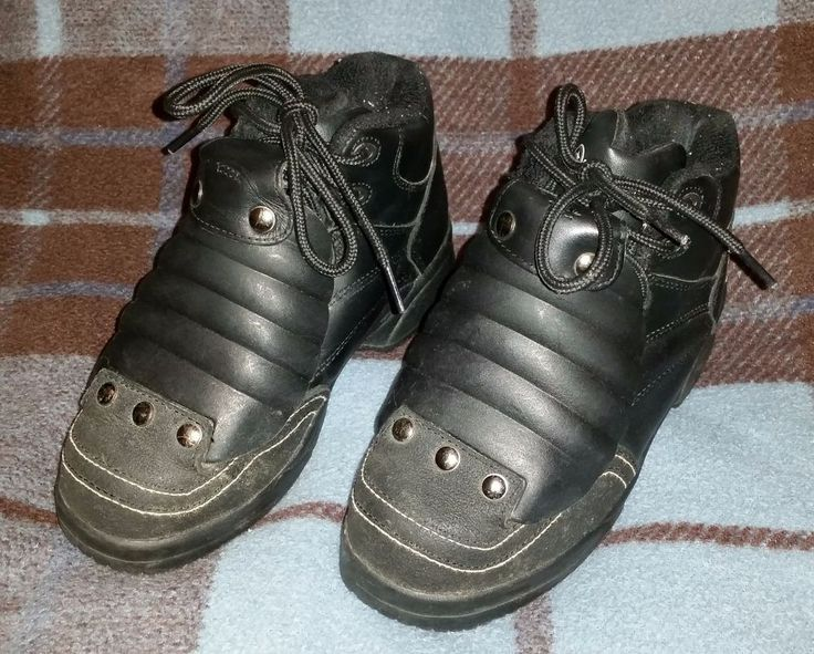Converse Slip Resist Work Boots with External Metatarsal EH Steel Toe Used #Converse #WorkSafety