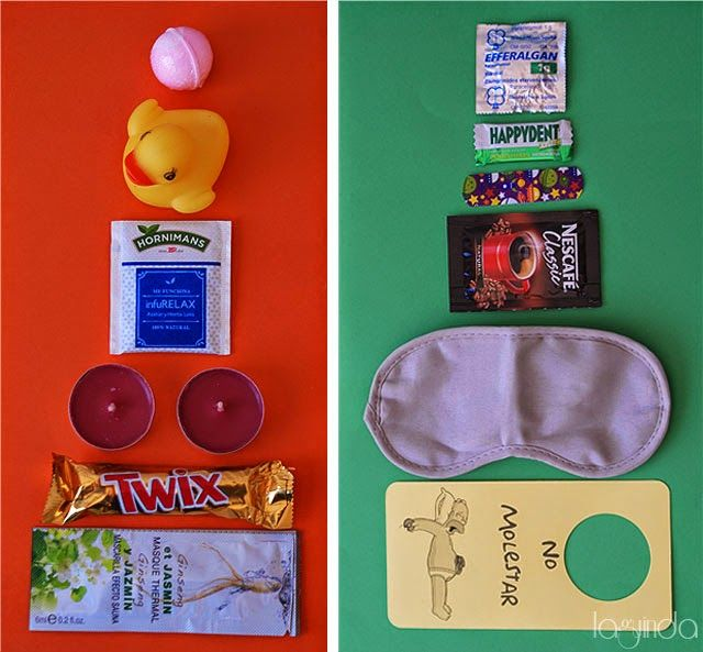 Hangover Kit for Weddings. Kit Post-Boda