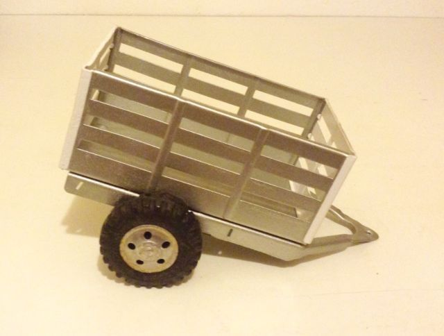Tonka Toys Ford Pick-Up Truck Sheep High Rack Trailer Pressed Steel Restored | eBay