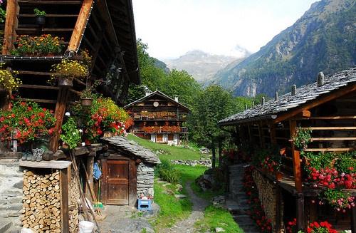 Alagna Valsesia - Piedmont, Italy
