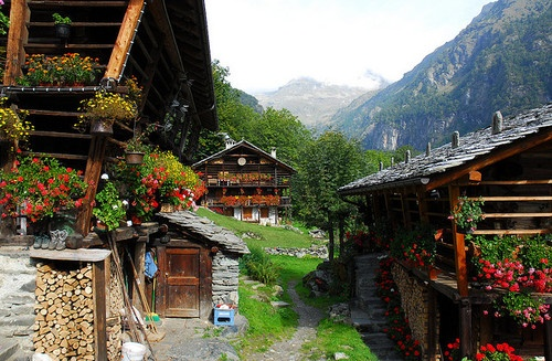 Alagna Valsesia, Piedmont, Italy