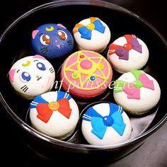 Sailor Moon Macarons