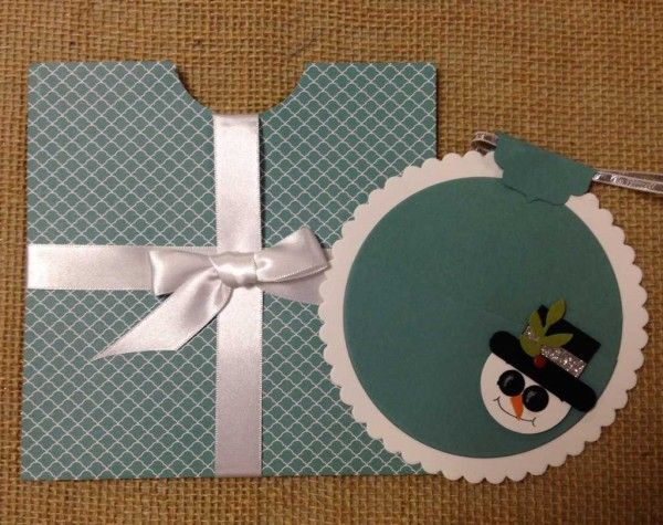 Holiday Gift Card, Ornament and Envelope