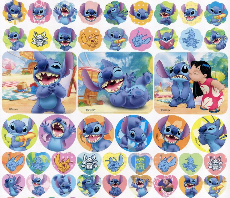 Lilo and Stitch stickers | by This and That From Japan