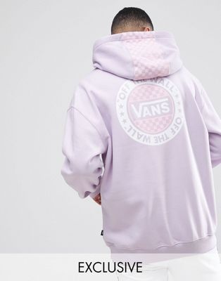 2245222a4d Shop Vans oversized hoodie with back print in purple Exclusive at ASOS at  ASOS. Discover Fashion Online