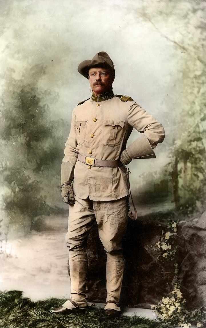 Teddy roosevelt guns to be displayed at nra national - Theodore Roosevelt As A Colonel In His Rough Riders Uniform During The Spanish American