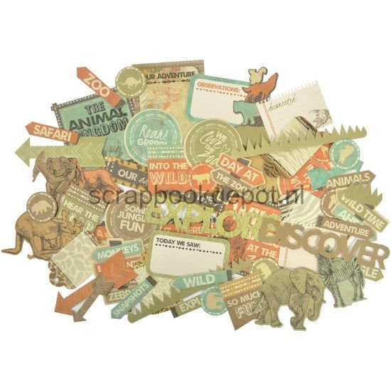 Into The Wild - Collectables Die-Cuts