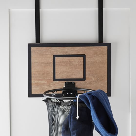 Basketball Hoop Over The Door Hamper Laundry Hamper Basketball