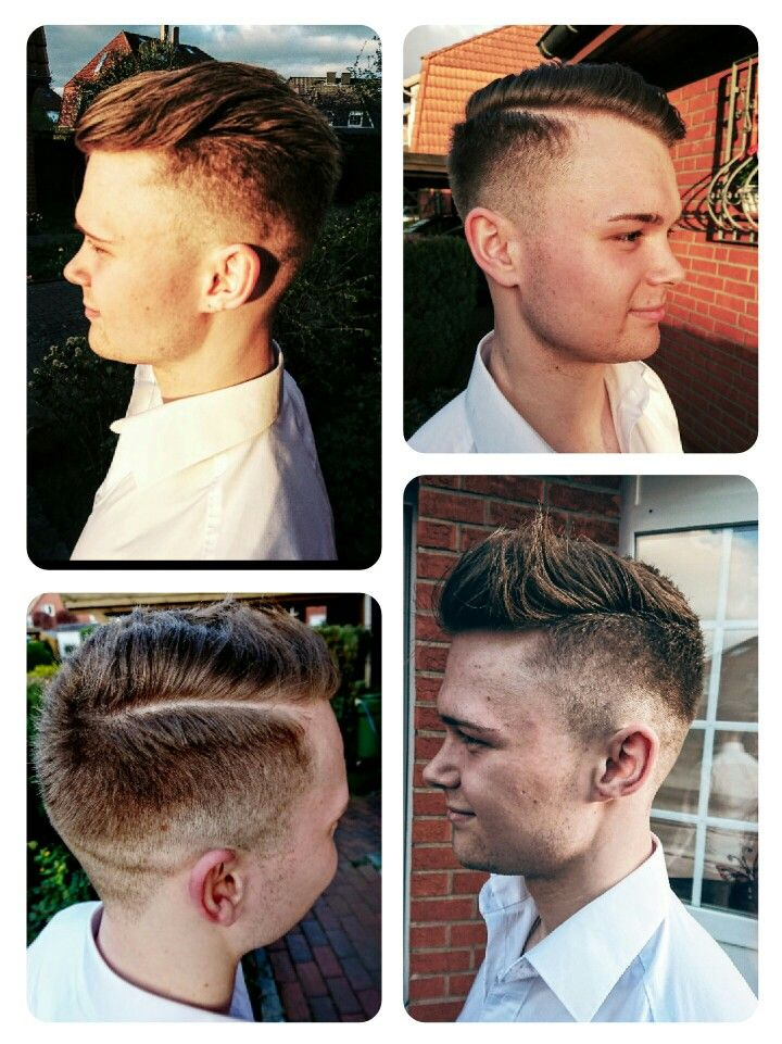 Short Men Hairstyles One cut - two styles