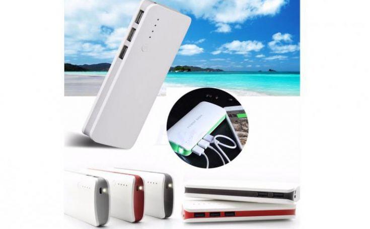 Baterie externa 20000 mah, cu 3 usb-uri, pentru telefoane tablete camere foto/video, model c24, la 70 RON in loc de 145 RON  Vezi mai multe detalii pe Teamdeals.ro: Baterie externa 20000 mah, cu 3 usb-uri, pentru telefoane tablete camere foto/video, model c24, la 70 RON in loc de 145 RON