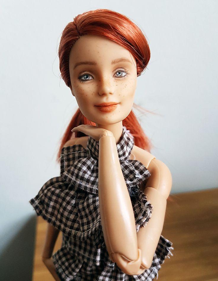 Introducing Anne – PlasticallyPerfect #OOAKBarbie #BarbieRepaint #CustomBarbie #DollModification #BarbieModification #MadetoMoveBarbie #YogaBarbie #Repaint #CustomDoll #OOAKDoll