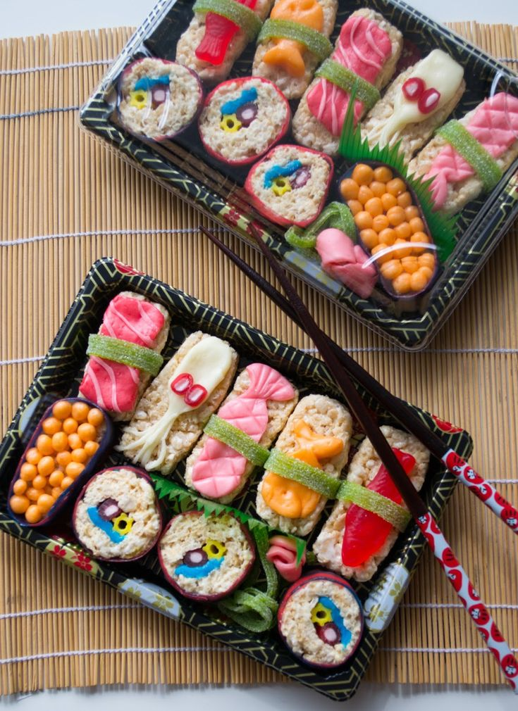 Easy Candy Sushi How To