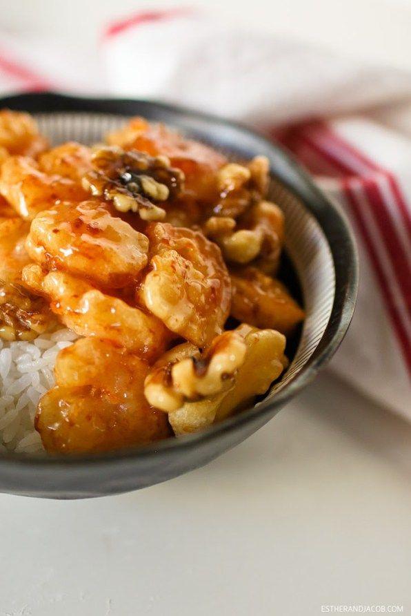 How to make Honey Walnut Shrimp // Easy Fried Shrimp Recipe.
