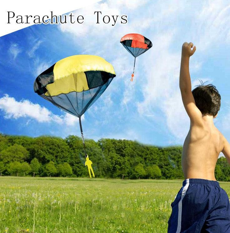 2016 Hot Sale Tangle Parachute Kite Outdoor Game Figure Paratrooper Toys For Children